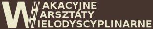 Wakacyjne Warsztaty Wielodyscyplinarne - Logo