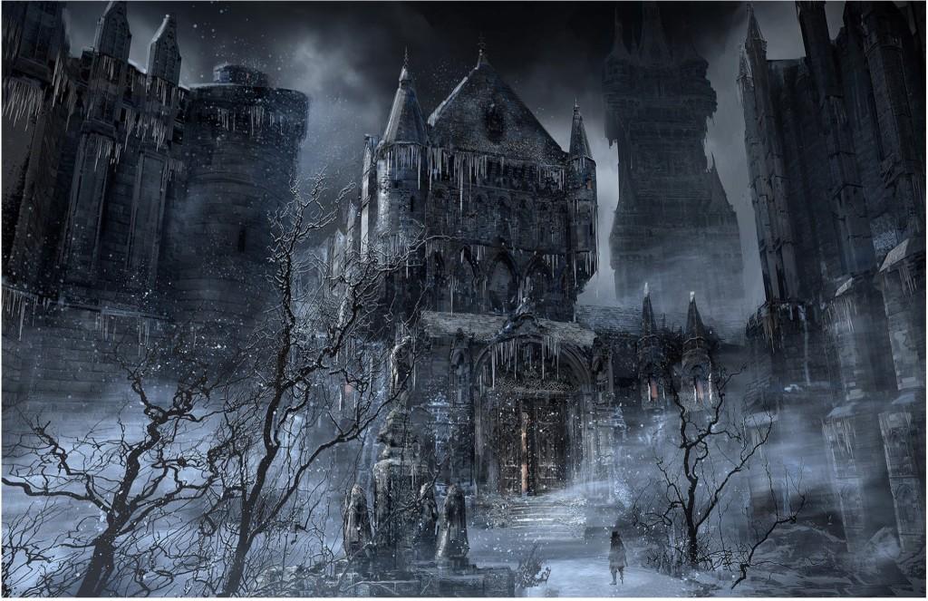 Ujęcie z Bloodborne'a